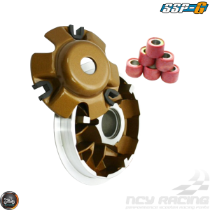 SSP-G Variator 115mm Coated Gold Set (GY6)