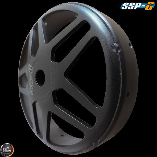 SSP-G Clutch Bell 10-Spokes Black Racing Star (GY6, PCX)