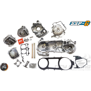 SSP-G Crankcase 63mm 180cc 2V Big Bore Power Kit (GY6 longcase)