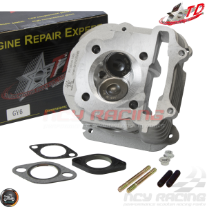 Taida Cylinder Head 63mm 180cc 2V 30.5/26.5 Fit 54mm (GY6)