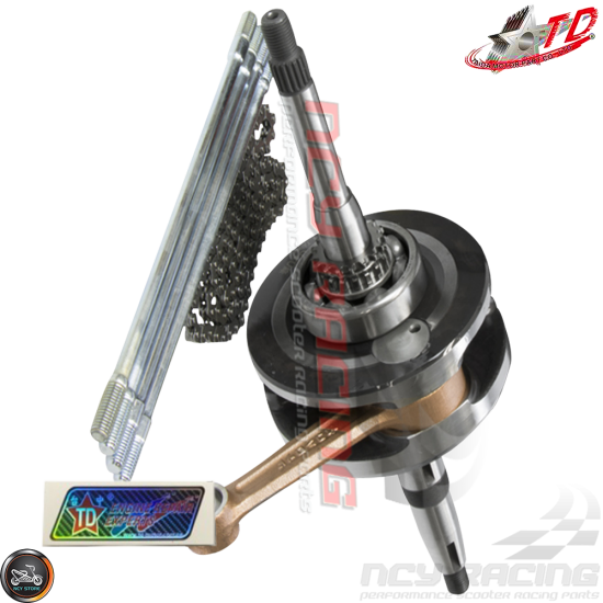 Taida Big Bore Combo 67mm 232cc C 4V w/Forged Piston Fit 57mm (GY6)