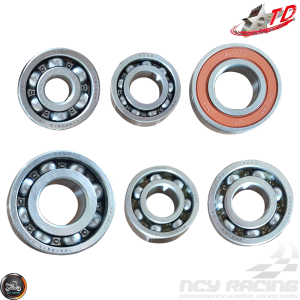 Taida Transmission Bearing Set (GY6)