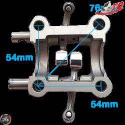 Taida Rocker Arm 2V Assembly Fit 54mm (GY6)