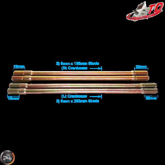 Taida Big Bore Combo 63mm 205cc LC 2V w/Cast Piston Fit 54mm (GY6)