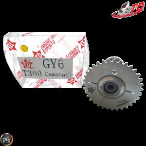 Taida Camshaft T-300 2V 6.3/6.25 High Rev (GY6 205-232cc)