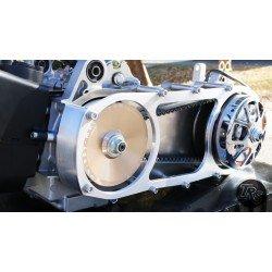 TRS CVT Cover Anklebiter Ultimate Silver (GY6 longcase)