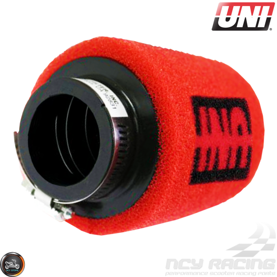 UNI Air Filter Pod 38mm Straight (UP-4152ST)