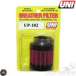 Uni Breather Filter 3/8in Clamp-On (UP-102)