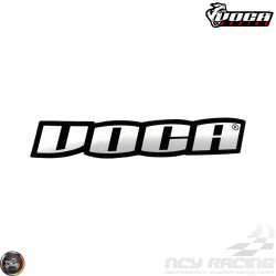VOCA Sticker Black/Chrome