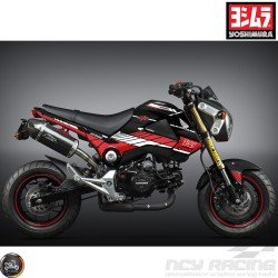 Yoshimura Graphics Decal Kit Black 2014-15 (Honda Grom)