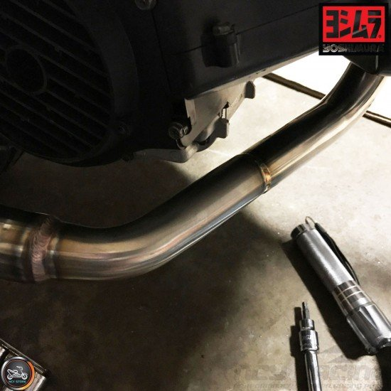 Yoshimura Exhaust RS-2 Carbon Full System (GY6)