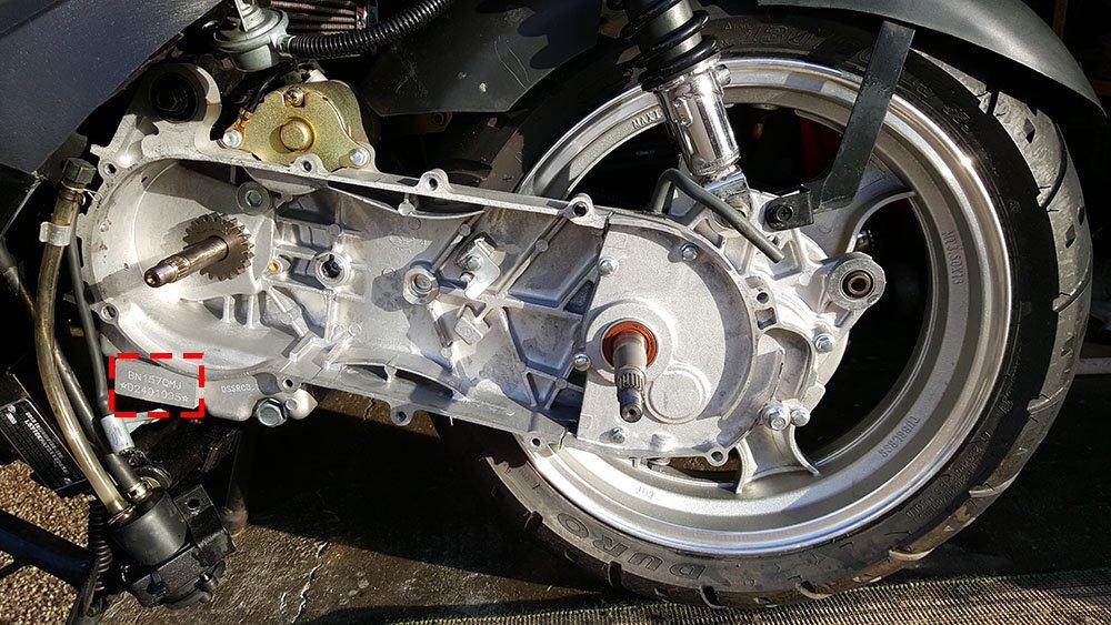 Locate GY6 Engine Code