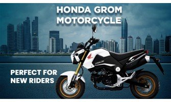 Perfect For New Riders Honda Grom Motorcycle