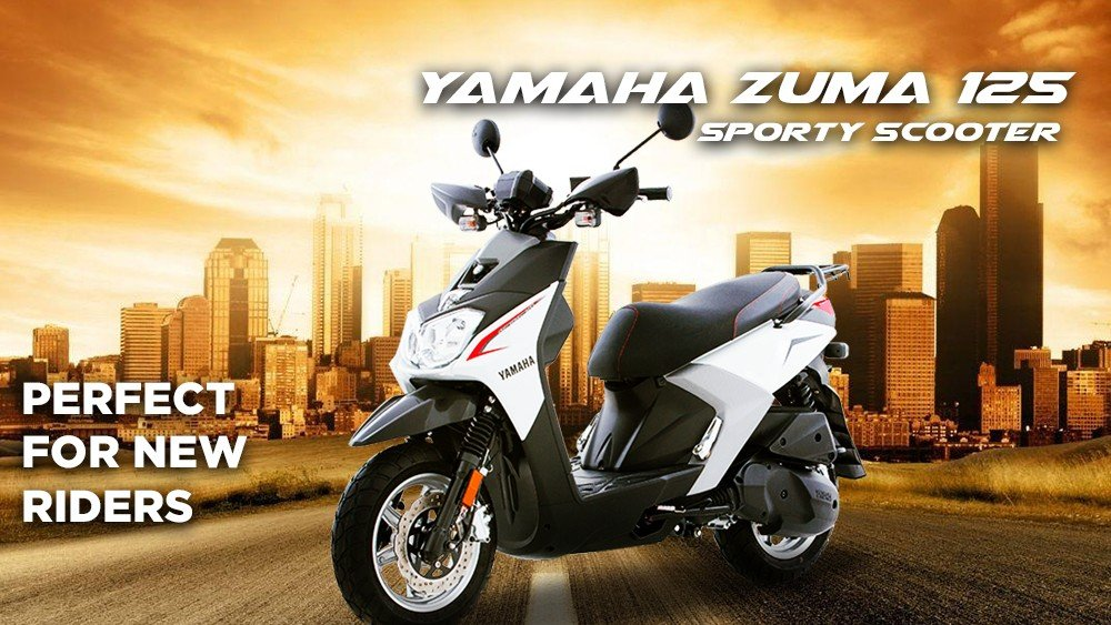 Yamaha Zuma 125 Sporty Scooter