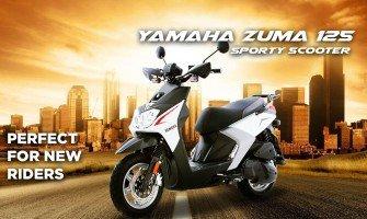 Yamaha Zuma 125 Sporty Scooter